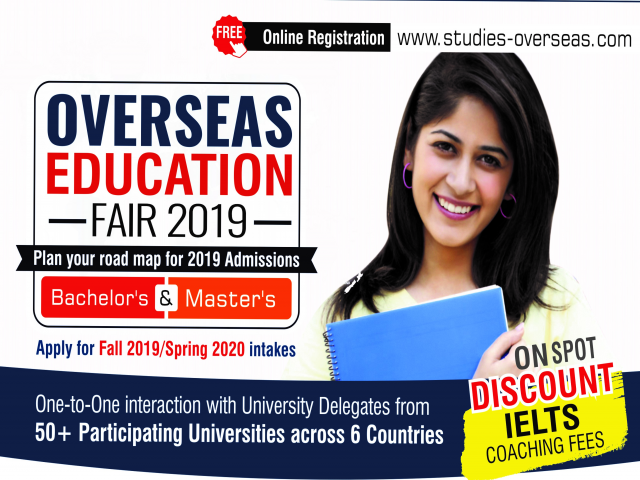 Overseas Education Fair in Pune - Sunday, 9th June 2019 | Free Entry