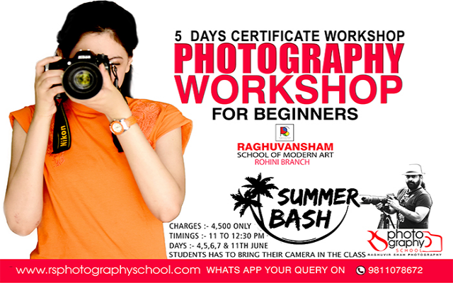 Photography Workshop in Rohini