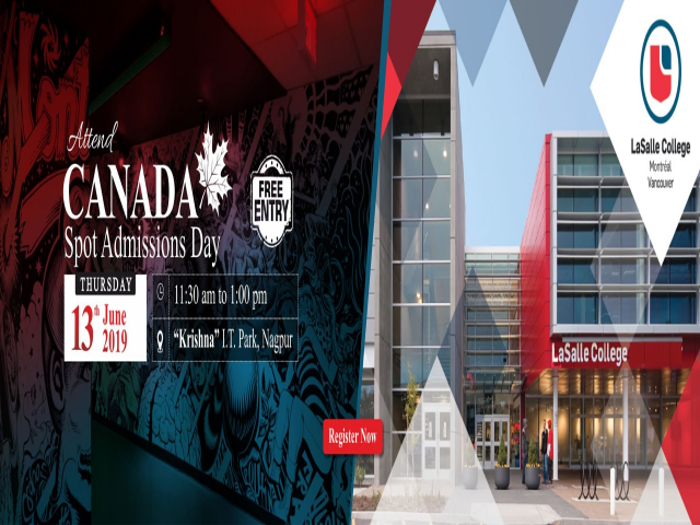 Canada Admissions Day - Thursday, 13th June 2019 | Register Now