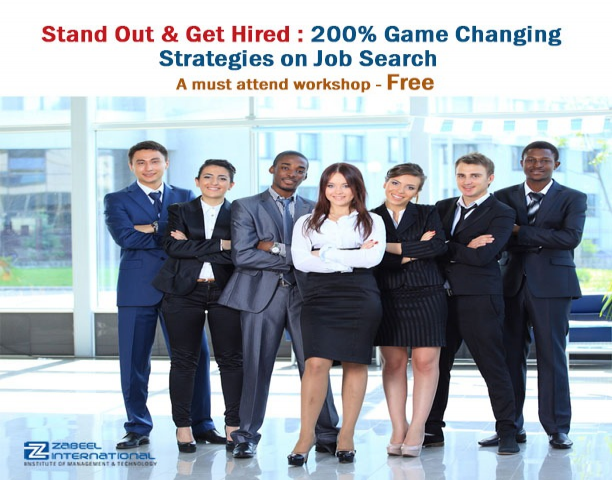 Game Changing Strategies for Job Search Workshop