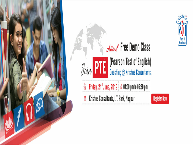PTE Coaching Classes in Nagpur - New Batch starting from Friday,21st June 2019