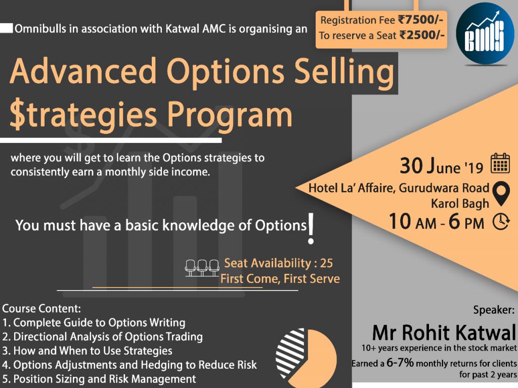 Advanced Options Selling Strategies Program