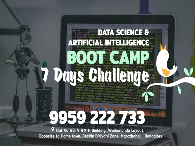 Data Science and Artificial Intelligence Boot Camp