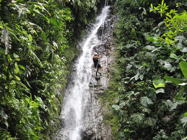 Dodhani Waterfall Rappelling