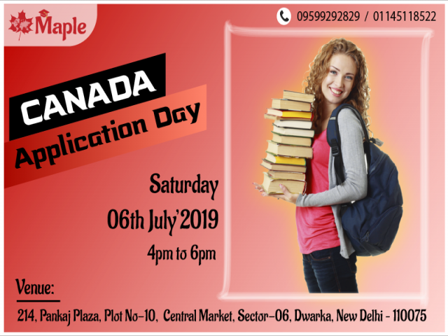 Canada Application Day - 6th July'19