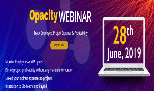 Prudence Technology Announces a Webinar For The Working Of Opacity
