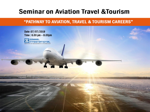 Free Seminar on Pathway to Aviation, Travel & Tourism