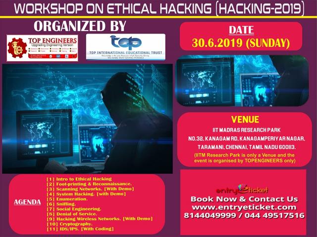Ethical Hacking 2k19 - Entryeticket