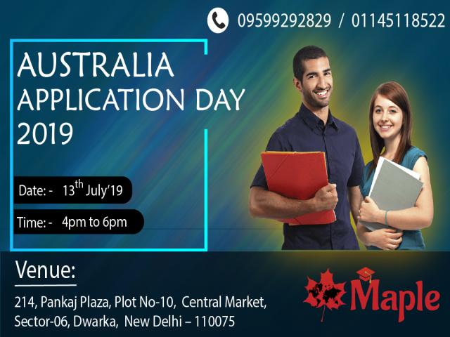 Australia Application Day - 13th July'19
