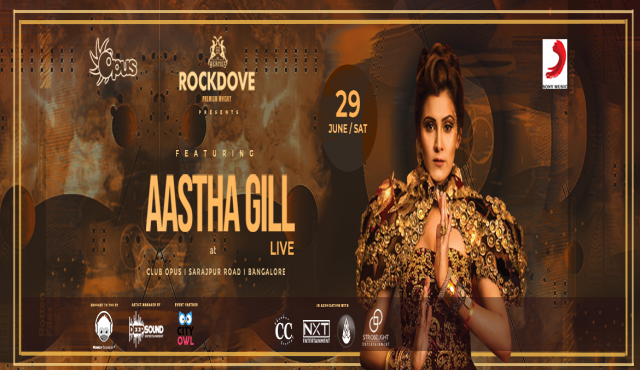 Aastha Gill Live In Bangalore