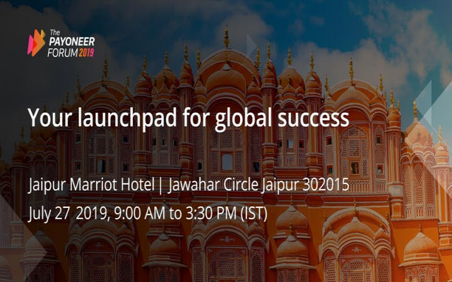 Payoneer Forum Jaipur: Your Launchpad for Global Success