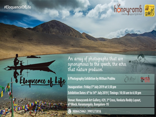 Eloquence of Life - A Photography Exhibition by Mithun Prabhu