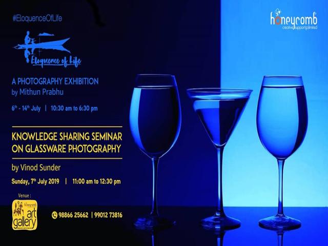 Knowledge Sharing Seminar: Glassware Photography - Vinod Sunder