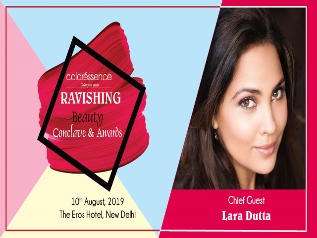 The Ravishing Beauty Conclave Awards 2019 - The Eros Hotel Nehru Place New Delhi