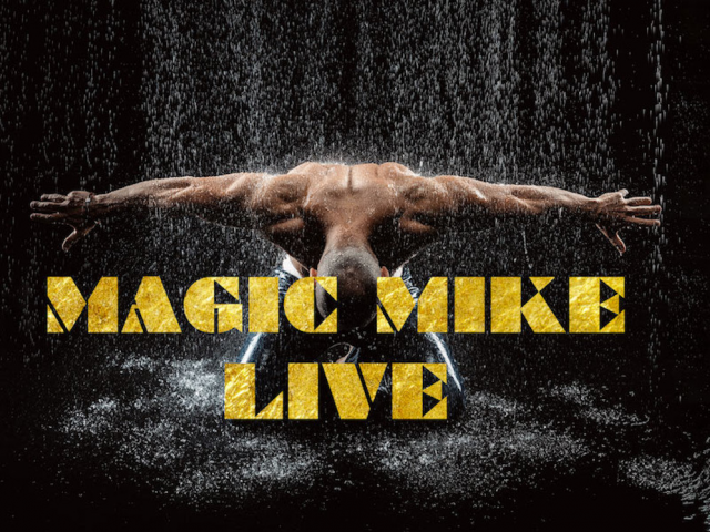 Magic Mike Live - Wednesday 31st July - 7:30pm