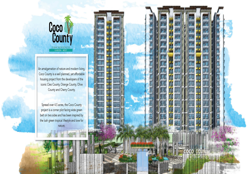 Get an outright luxury home in Coco County Noida