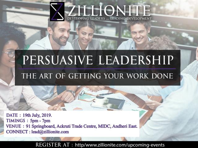 Persuasive Leadership