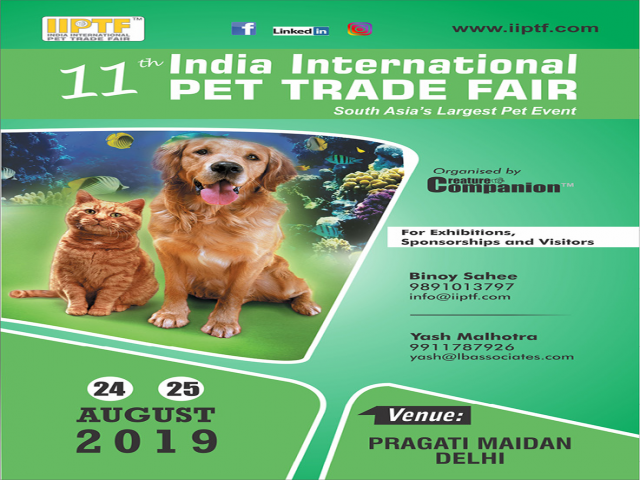 India International Pet trade Fair 2019