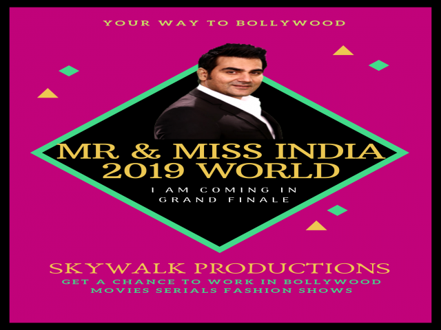 Mr and Miss India 2019 world