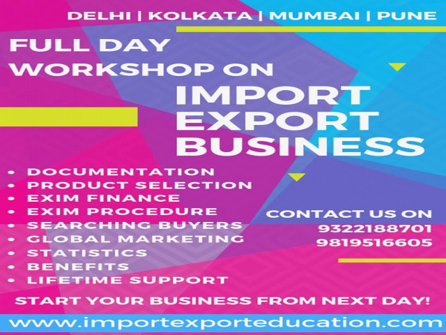 Import Export Workshop in Delhi