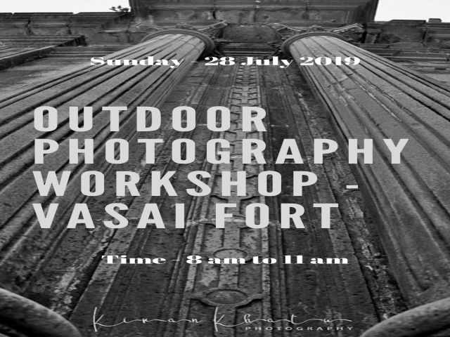 Outdoor Photography workshop at Vasai Fort