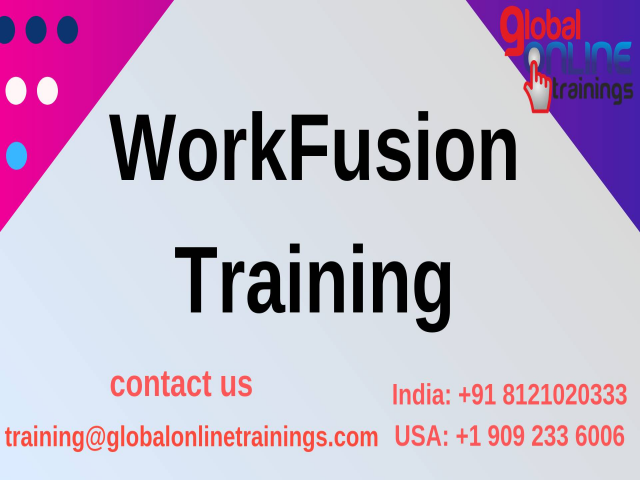 WorkFusion Training | Best Online WorkFusion Tutorial from India - GOT