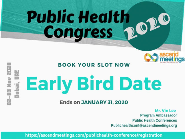 Public Health and Environmental Science Congress (PHESC 2020)