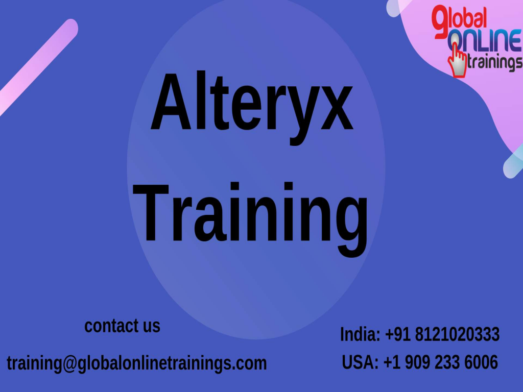 Alteryx Training |Alteryx Online Training-Global Online Trainings
