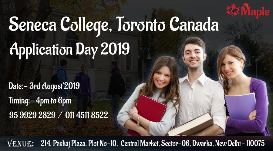 Seneca College, Toronto, Canada Application Day