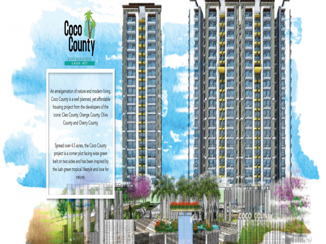 Aggrandize your living standard with Coco County Noida Extension