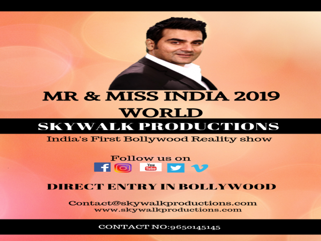 Mr & Miss 2019 Registration-Auditions