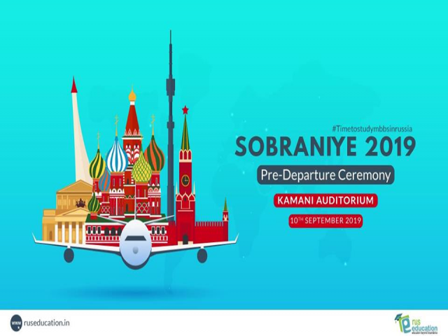 WELCOME to SOBRANIYE 2019!!