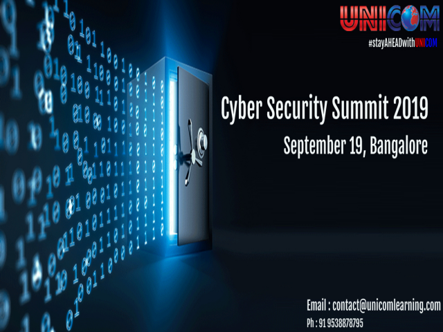 Cyber Security Summit 2019 - Bangalore