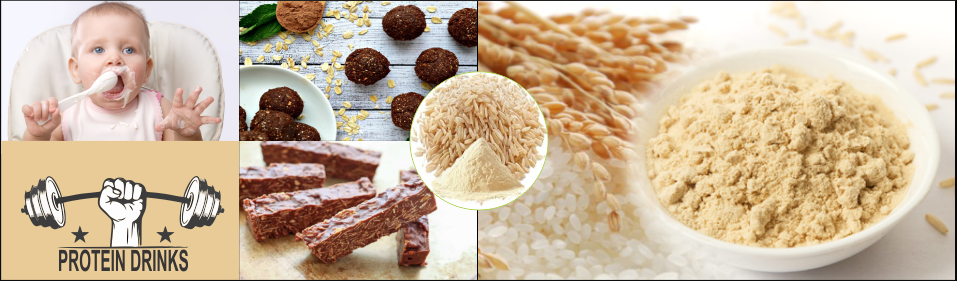 Best Rice protein and brown rice syrup manufacturers in india