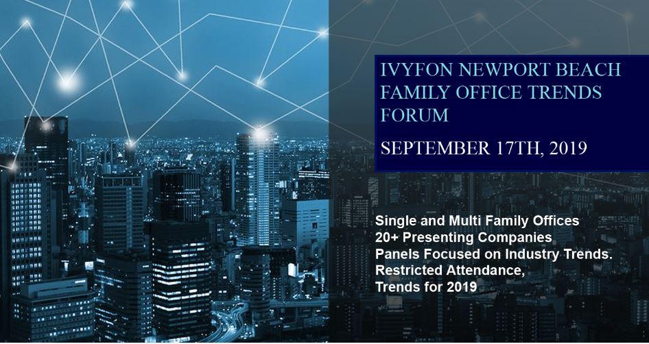 The Ivy Family Office Network (IVYFON) - Full-Day Seminar on September 17th