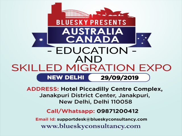 Australia and Canada Education And Skilled Migration Expo 2019