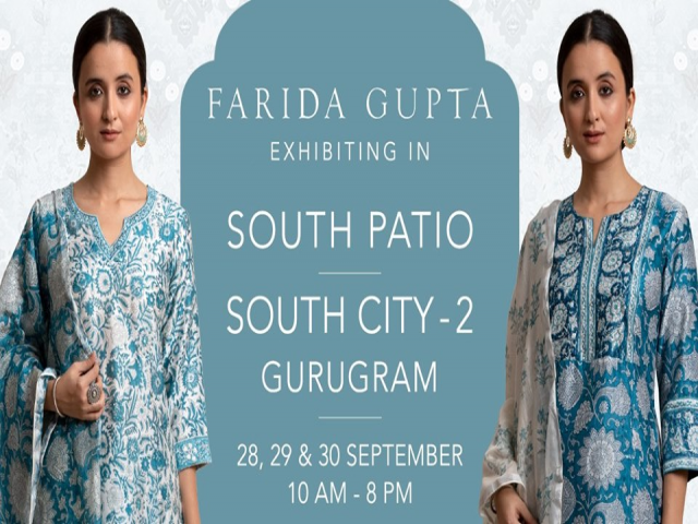 Farida Gupta Gurugram Exhibition ( South Patio )