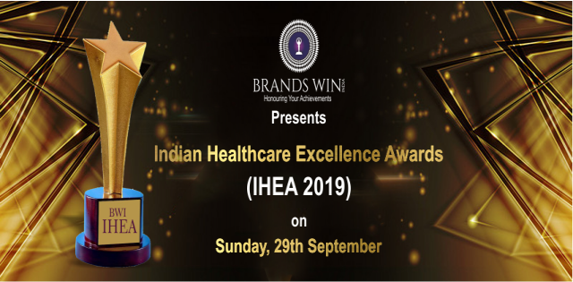 INDIAN HEALTHCARE EXCELLENCE AWARDS 2019