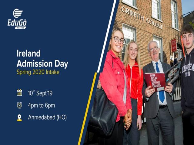 Ireland Admission Day - Spring 2020 Intake