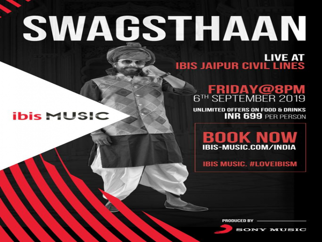 Groove to the beats of SWAGASTHAAN and get ready to rock, Jaipur!