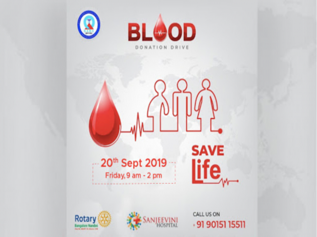 Sanjeevini Multispeciality hospital: Blood Donation Drive