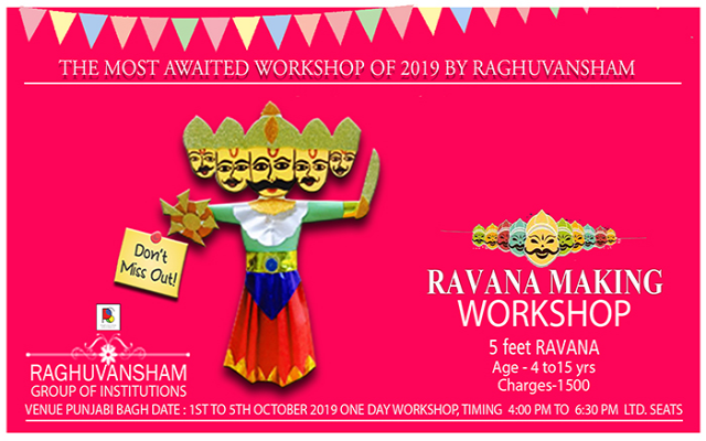 Ravana Making Workshop 2019