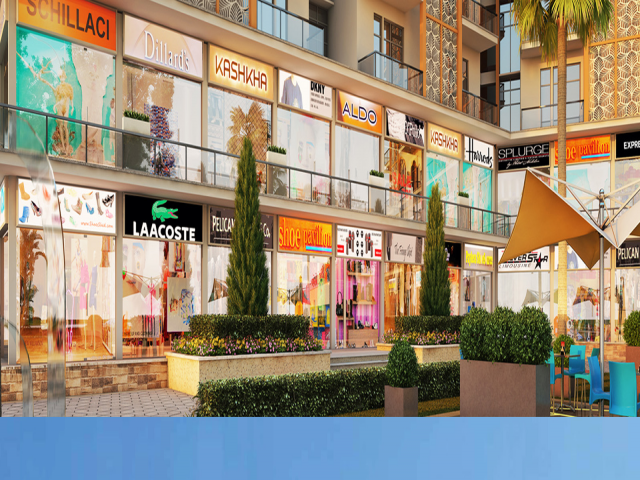 Gaur world Street Retail Shops in Noida Extension