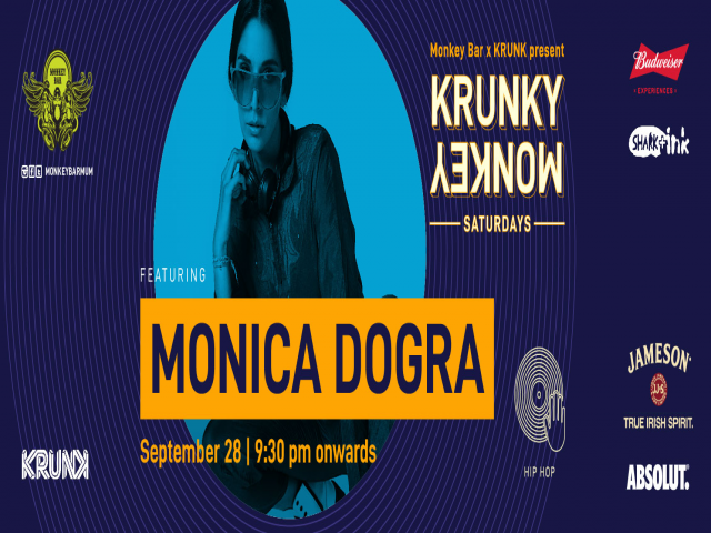 Krunky Monkey 06: Monica Dogra (DJ Set) | Monkey Bar, Mumbai