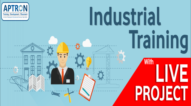 Best 6 Months 6 Weeks Industrial Training with Live Project in Delhi