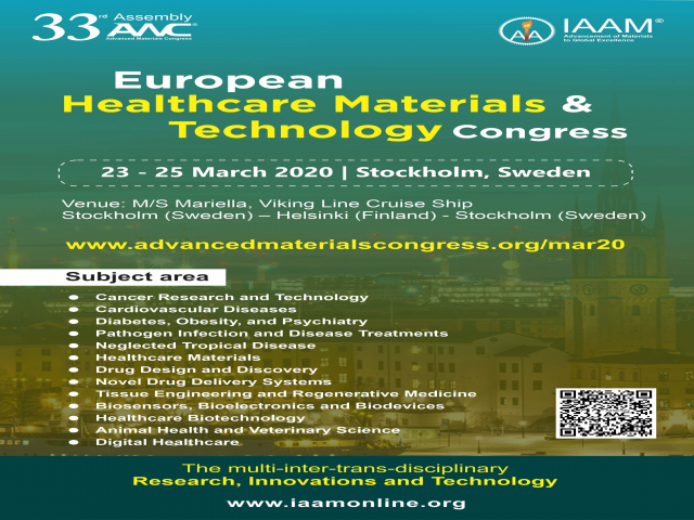 European Healthcare Materials and Technology Congress