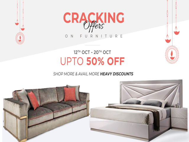 Cracking Offers On Furniture - Diwali Sale | Furniture Cottage