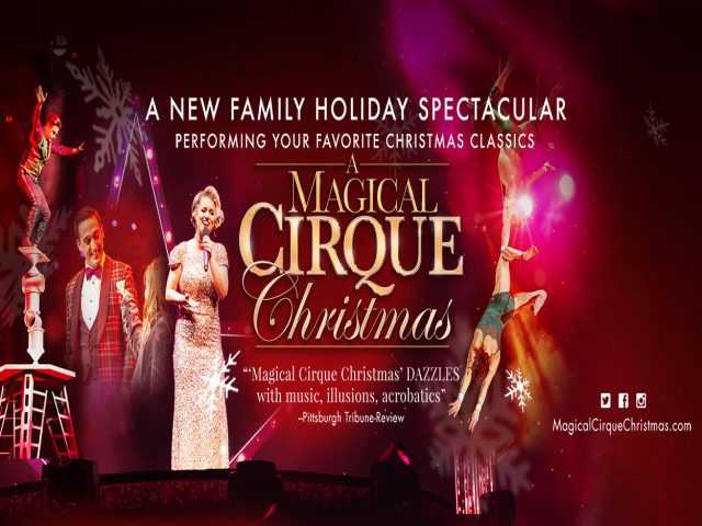 A Magical Cirque Christmas Upper Darby Tickets