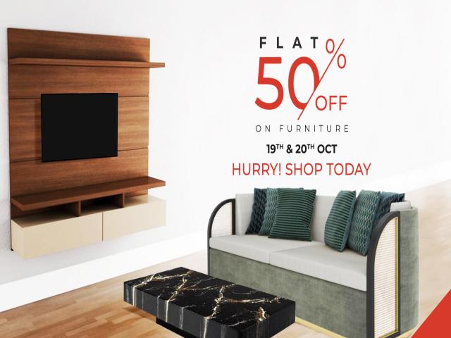 FLAT 50Percent Off On Furniture Furniture Cottage