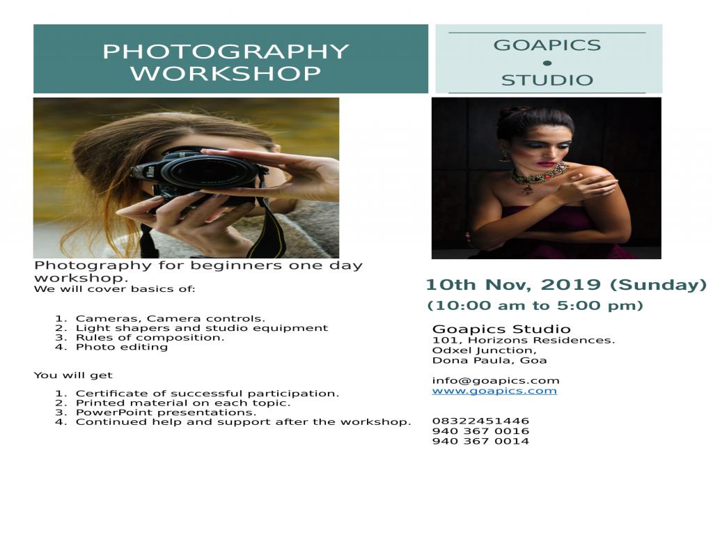 Goa Pics Studio - Photography Workshop